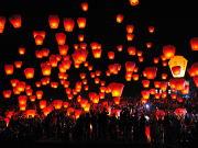 台湾旅行人気 天燈祭