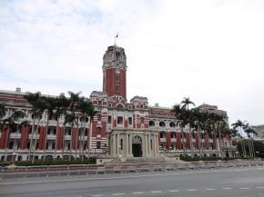 台北 台湾総統府