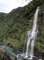 烏来の白糸の滝