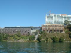 日月潭のリゾートホテル
