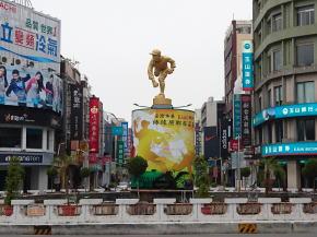 嘉農エース呉明捷の像