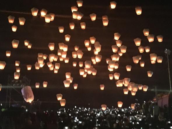 2017平渓天燈祭旅行