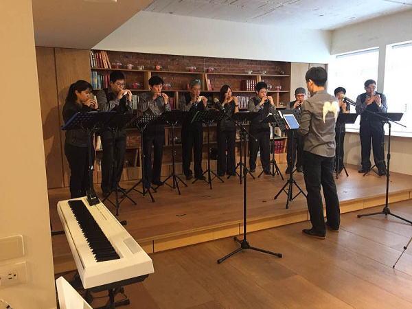 台湾のオカリナ演奏グループ